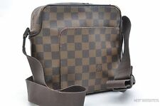 Authentic Louis Vuitton Damier Olav PM Shoulder Bag N41442 LV 23220