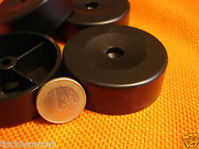 12 Pezzi Polsterfuß Möbelgleiter Möbelfüße Kunststoff nero 57x20 altezza mm