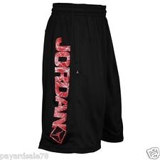 Men's Nike Jordan Go 23 Flight Basketball Shorts Black SIZE XL TWO THREE