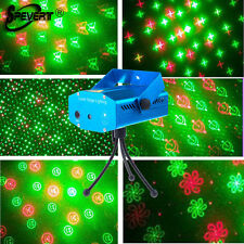 6in1 Mini R&G Laser Stage Lighting DJ Xmas Disco Party Show Projector Light  L4