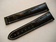 CINTURINO PER SPEEDMASTER DEPLOYANTE 21/18MM NERO WATCH BAND STRAP CORREA