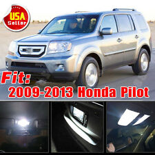 19x Xenon White LED Lights Interior Package Deal for 2009-2013 Honda Pilot US
