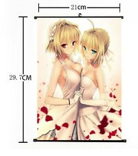 Hot Japan Anime Fate Zero Stay Night Saber Home Decor Poster Wall Scroll 02