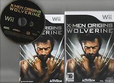jeux nintendo wii X-MEN ORIGINS WOLVERINE