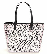NEW Kate Spade Broome Street Pinwheel Court Tanner Canvas & Leather Tote Bag
