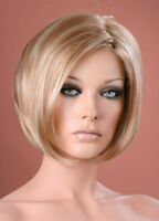 Ladies Bob Style Short Two Tone Blonde Fashion Style Wig Hair