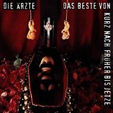 """DIE ÄRZTE """"DAS BESTE VON KURZ NACH FRÜHER"""" 2 CD NEUWARE"""