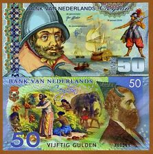 Netherlands Ceylon, 50 Gulden, 2016, Private Issue Polymer, UNC