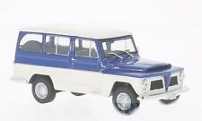 Whitebox WHT092 - Rural Willys bleu / blanc - 1968   1/43
