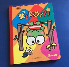 NORMA SANRIO KEROPPI Notebook Journal Diary School Supplies Frog Children Girls