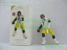 Hallmark 2009 Ben Roethlisberger Super Bowl Pittsburgh Steelers NFL Ornament HTF
