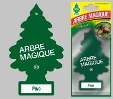 Little Tree Fresh Scented Hanging Air Freshener for Car & Home - Green Pine Pino