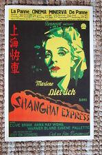 Shanghai Express Lobby Card Movie Poster Marlene Dietrich