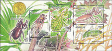 Malaysia 1998 Insects M/S MNH