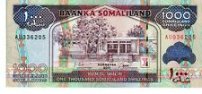 SOMALILAND 2011  1000 SHILLINGS CURRENCY UNC