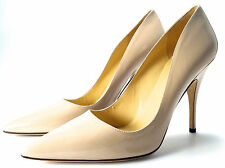 Kate Spade New York Italy Licorice Pointed-Toe Dress Pumps Powder Patent 10.5 M
