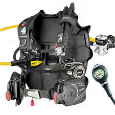 DIVING EQUIPMENT MARES PACKAGE BCD PURE SIZE XLARGE YOKE REGULATOR ABYSS GAUGE