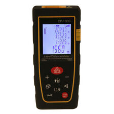 CP-100S Model 100m 328ft Digital Laser Distance Meter Range Finder Measure Tape