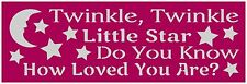Primitive Stencil For Signs, Twinkle Twinkle Little Star, Nursery, Baby (#267)