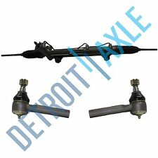Power Steering Rack and Pinion Assembly +2 Outer Tie rod End for Ford Mercury