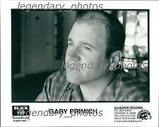 Gary Primich Black Top Records & Alligator Records Original Press Photo