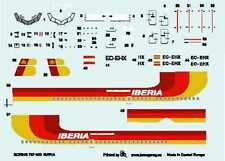 "BOEING 737-300 ""IBERIA"" AIRLINES (SPANISH MKGS)  1/144 BOA DECAL SET"