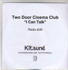 (AD117) Two Door Cinema Club, I Can Talk - DJ CD