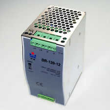 120W Din Rail Mounted 12VDC 10A Output Power supply