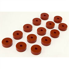 Prothane 55-73 Jeep CJ5 CJ7 Willys Body Mount Bushings 14 Pieces Kit (RED)