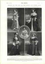 1905 Historical Bazaar Countess Of Yarmouth Mrs Cyril Spottiswoode Ina Wilson