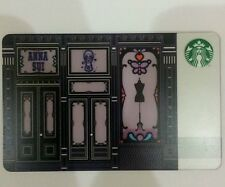 New Starbucks Anna Sui Gift Card 2016 Special Limited Edition
