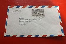 *Brief Beleg - Boliviennach Deutschland - Salzgitter 50-er Jahre (90)