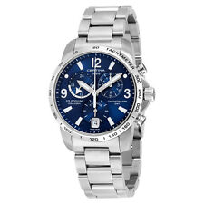 Certina DS Podium GMT Blue Dial Stainless Steel Mens Watch C0016394404700