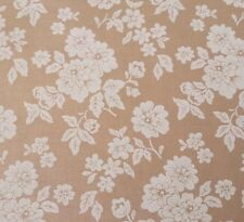 Rustic Blush BTY Verna Mosquera FreeSpirit Shadow Rose Floral Off-White Tan