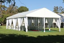 10' x 30' Party Tent Wedding Canopy Gazebo Pavilion w/Side Walls Graduation Camp