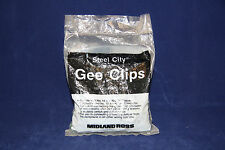 Midland Ross 435G Steel City Gee Clips 100 Grounding Clips