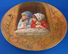 Collector Plate Girls & Kittens: Sunday Best 1st Issue Days Gone By Sandra Kuck
