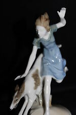 Large Deco Hutschenreuther Porcelain figurine Tomboy Karl Tutter china figure
