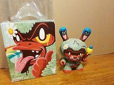 """Dunny 8"""" Kronk Tree Hugger Huggr Kidrobot 2009 Vinyl Toy"""