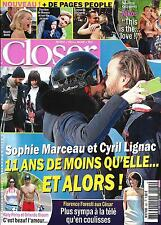CLOSER N°560 04/03/2016 MARCEAU&LIGNAC/ ALIAGAS/ BLOOM&PERRY/ FORESTI/ MIDDLETON