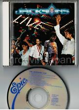 MICHAEL JACKSON-JACKSONS Live JAPAN CD 25.8P-5140 w/Moonwalker Ad 1988 NO OBI
