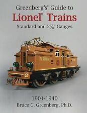 Greenberg's Guide to Lionel Standard and 2-7/8 Gauges, 1901-1940  2014 edition.