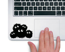Soot Sprites Studio Ghibli - Trackpad Macbook Laptop Vinyl Sticker Decal