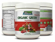 Spinach - Organic Greens Powder Berry 9.7oz - Immune System Recovery 1C