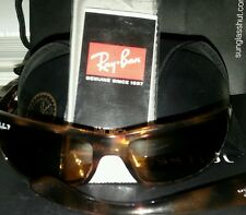 Broken Used Pair Ray Bans Tortoise RB4075 with case