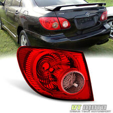 2005 2006 2007 2008 Toyota Corolla Tail Light Rear Brake Lamps Outer Driver Side