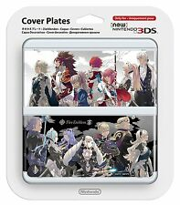NEW Nintendo 3DS Faceplate Fire Embled if no.61 Cover Plates Japan Import