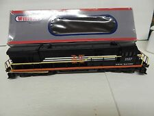 WILLIAMS ITEM#22213 - U33C NEW HAVEN MOTIVE RUNS FORWARD AND REVERSE LIGHT WORK