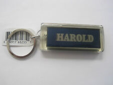 "HAROLD Key Chain Solar 2.5""x1  Blinks NOS"
