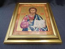 grand icone russe la gloire du christ peint sur porcelaine Heinrich 2